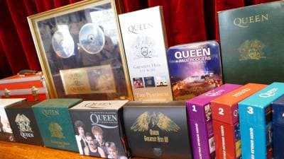 Exhibition of a large collection of Queen items