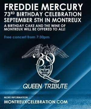 Freddie Mercury 73rd Birthday Celebration